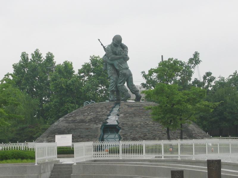 South Korean Statues