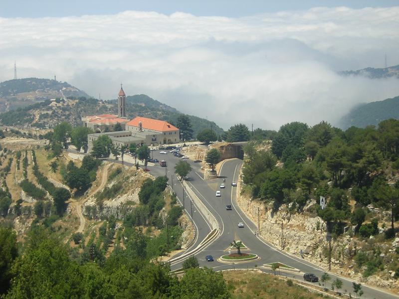 Lebanon photo mount lebanon town church